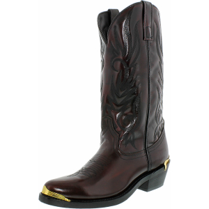 Laredo Men's Mccomb Leather Synthetic Mid-Calf Leather Boot