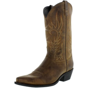 Laredo Men's Willow Creek Leather Mid-Calf Leather Boot