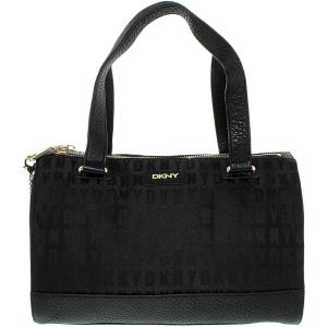 Dkny Women's Tribeca Double Zip Satchel Leather Top-Handle Tote