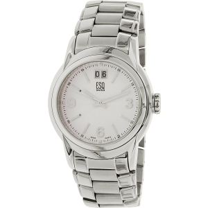 Esq Men's Quest 07301224 Silver Stainless-Steel Swiss Quartz Watch