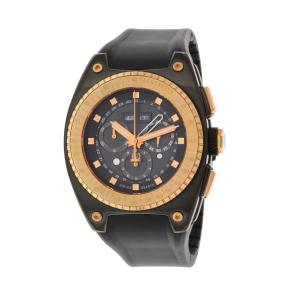Esq Men's Fusion 07301322 Black Silicone Swiss Quartz Watch