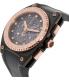 Esq Men's Fusion 07301322 Black Silicone Swiss Quartz Watch - Side Image Swatch
