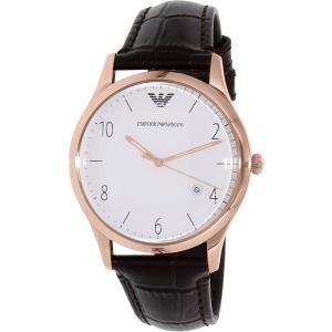 Emporio Armani Men's AR1915 Brown Leather Quartz Watch