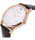Emporio Armani Men's AR1915 Brown Leather Quartz Watch - Side Image Swatch