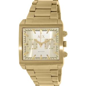 Armani Exchange Men's AX2226 Gold Stainless-Steel Quartz Watch