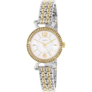 Fossil Women's Georgia ES3895 Silver Stainless-Steel Quartz Watch