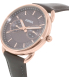 Fossil Women's Tailor ES3913 Grey Leather Quartz Watch - Side Image Swatch