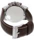 Fossil Men's Dean FS5022 Brown Leather Quartz Watch - Back Image Swatch