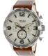 Fossil Men's Nate JR1503 Brown Leather Quartz Watch - Main Image Swatch