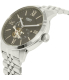 Fossil Men's Townsman ME3107 Silver Stainless-Steel Automatic Watch - Side Image Swatch