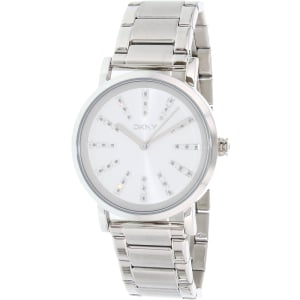 Dkny Women's Soho NY2416 Silver Stainless-Steel Quartz Watch