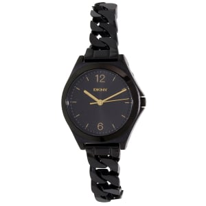 Dkny Women's Parsons NY2426 Black Stainless-Steel Quartz Watch