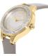 Dkny Women's Chambers NY2432 Grey Leather Quartz Watch - Side Image Swatch