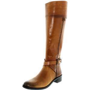 Vince Camuto Women's Jaran Leather Knee-High Leather Boot