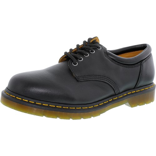 Dr. Martens Mens 8053 Lace-Up Black Ankle-High Leather Oxford Shoe - 11M