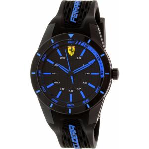 Ferrari Men's Scuderia 0830247 Black Silicone Quartz Watch