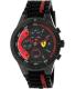 Ferrari Men's Redrev 0830260 Black Silicone Quartz Watch - Main Image Swatch