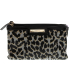 Nine West Women's Small Glitter Mob Cosmetic Case Fabric Clutch Baguette - Main Image Swatch