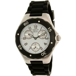 Invicta Women's Angel 18787 Black Silicone Quartz Watch