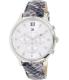 Tommy Hilfiger Women's 1781615 Silver Leather Quartz Watch - Main Image Swatch