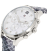 Tommy Hilfiger Women's 1781615 Silver Leather Quartz Watch - Side Image Swatch