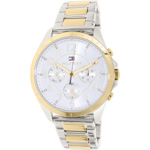 Tommy Hilfiger Women's 1781607 Silver Stainless-Steel Quartz Watch