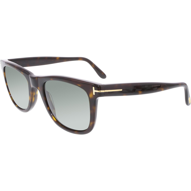 tom ford men 39 s polarized leo ft0336 56r 52 tortoiseshell square sunglasses ebay. Black Bedroom Furniture Sets. Home Design Ideas