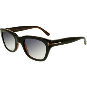 Tom Ford Men's Gradient Snowdon FT0237-05B-50 Brown Square Sunglasses