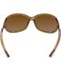 Tom Ford Women's Polarized Jennifer FT0008-48H-61 Brown Oval Sunglasses - Back Image Swatch
