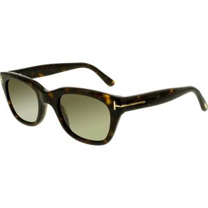 Tom Ford Men's Snowdon FT0237-52N-50 Brown Square Sunglasses