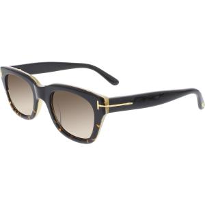 Tom Ford Men's Snowdon FT0237-05J-50 Black Square Sunglasses