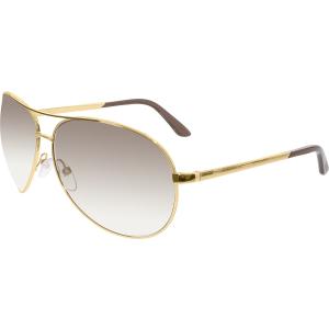 Tom Ford Men's Gradient Charles FT0035-772-62 Brown Aviator Sunglasses