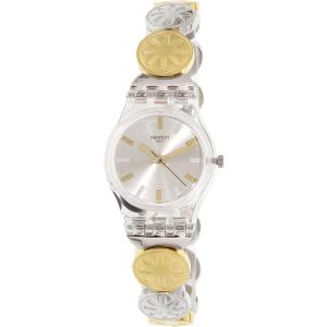 Swatch Women's Originals LK348G Silver Stainless-Steel Quartz Watch