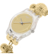 Swatch Women's Originals LK349G Gold Stainless-Steel Quartz Watch - Side Image Swatch