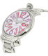 Gaga Milano Women's 6020.4 Silver Stainless-Steel Swiss Quartz Watch - Side Image Swatch