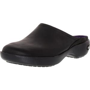 Crocs Women's Crocband 2.0 Ankle-High Leather Flat Shoe