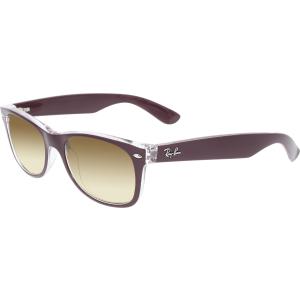 Ray-Ban Women's Gradient New Wayfarer RB2132-6054/85-52 Berry Square Sunglasses