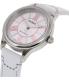 Casio Women's LTPE113L-7A White Leather Quartz Watch - Side Image Swatch