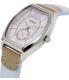 Casio Women's LTPE114L-2A Light Blue Leather Quartz Watch - Side Image Swatch