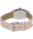 Casio Women's LTPE114L-4A2 Pink Leather Quartz Watch - Back Image Swatch