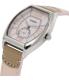 Casio Women's LTPE114L-4A2 Pink Leather Quartz Watch - Side Image Swatch