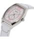 Casio Women's LTPE114L-7A White Leather Quartz Watch - Side Image Swatch