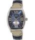 Casio Men's MTPE114L-2A Navy Leather Quartz Watch - Main Image Swatch