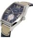 Casio Men's MTPE114L-2A Navy Leather Quartz Watch - Side Image Swatch
