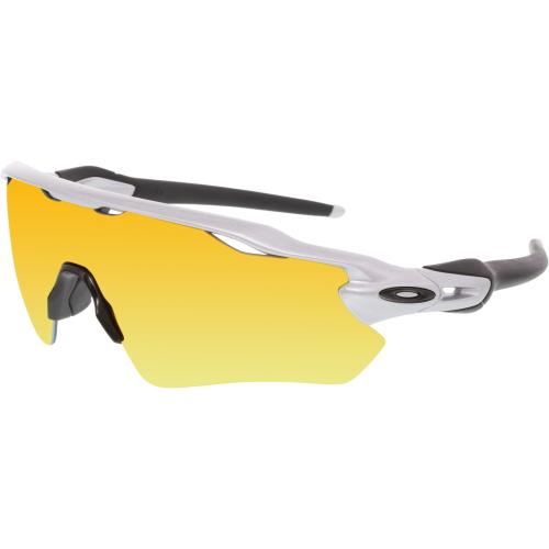 6ef4f92123740 ... UPC 888392102454 product image for Oakley Men s Radar Ev Path OO9208-02  Silver Wrap Sunglasses ...