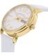 Marc by Marc Jacobs Women's Fergus MBM8653 White Leather Quartz Watch - Side Image Swatch