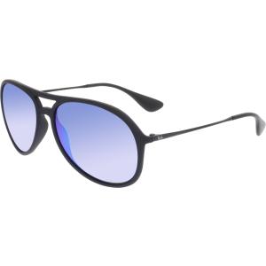 Ray-Ban Men's Alex RB4201-622/55-59 Black Aviator Sunglasses