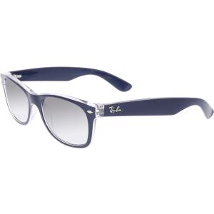Ray-Ban Women's Gradient New Wayfarer RB2132-6053M3-52 Blue Square Sunglasses