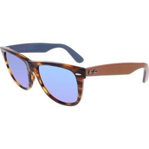 Ray-Ban Men's Original Wayfarer RB2140-117617-54 Brown Square Sunglasses