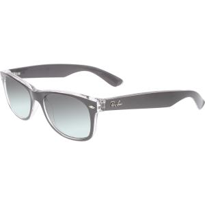 Ray-Ban Women's Gradient New Wayfarer RB2132-614371-52 Grey Square Sunglasses